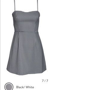 French connection gingham dress new sz 2